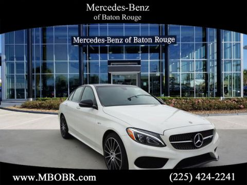 New 2018 Mercedes-Benz C-Class AMG® C 43 Sedan