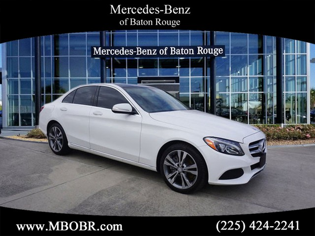 Certified pre owned 2015 mercedes benz c class c 300 sedan for Mercedes benz baton rouge service