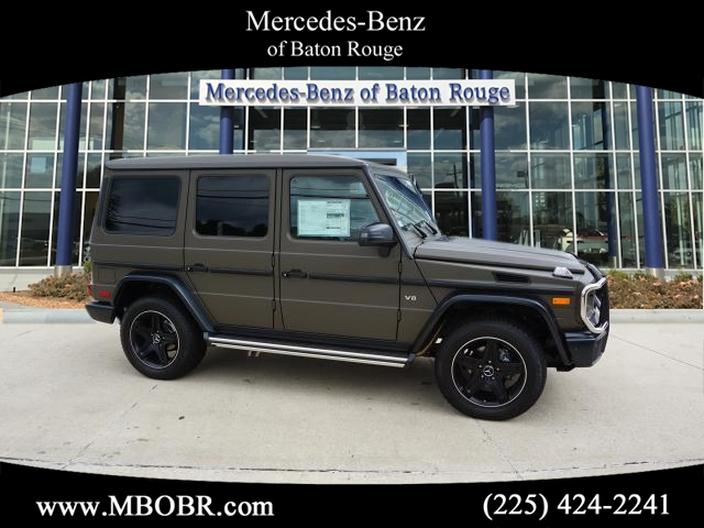 New 2017 mercedes benz g class g 550 suv in baton rouge for Mercedes benz college graduate program