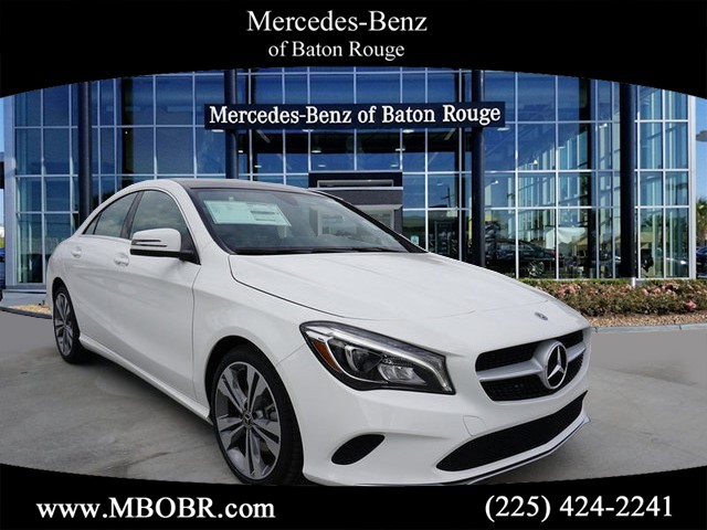 New 2019 Mercedes Benz Cla Cla 250 Coupe In Baton Rouge 19m221