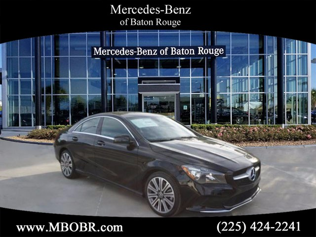 Certified pre owned 2018 mercedes benz cla cla 250 coupe for Mercedes benz baton rouge service