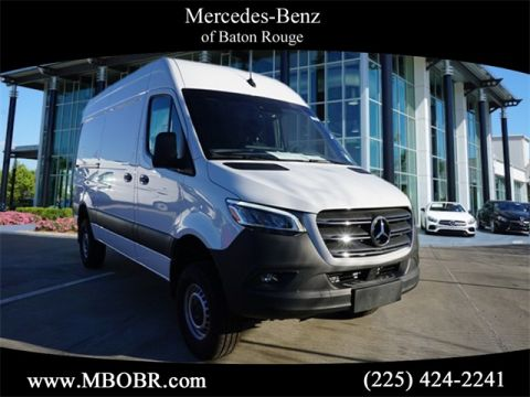 "New 2019 Mercedes-Benz Sprinter 2500 144"" WB 4x4 Cargo"