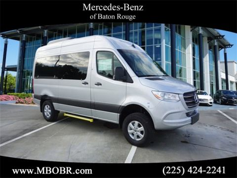 "New 2019 Mercedes-Benz Sprinter 2500 144"" WB 4x4 Passenger"